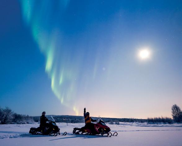 NORTHERN LIGHTS AND SOUL OF THE ARCTIC MARCH 21 26, 2018 HIGHLIGHTS An Inspiring Northern Lights Expedition for just 10 guests into the