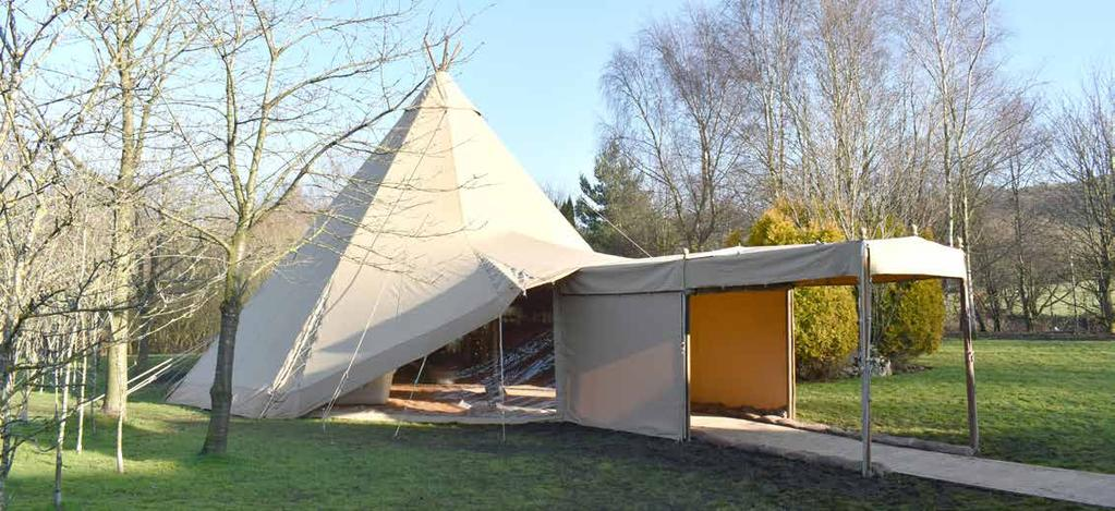 Weatherproofing Kit Being British means embracing the weather! Big Chief Tipis can help you do this, while enhancing the overall look and feel of your event.
