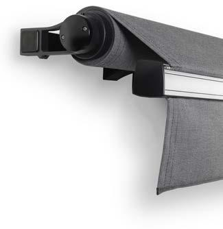 awning. KS - KONA Semi-Cassette The Kona Semi-Cassette Folding Arm Awning design features a semi-enclosure for superior fabric protection, increasing the longevity of the awning fabric.