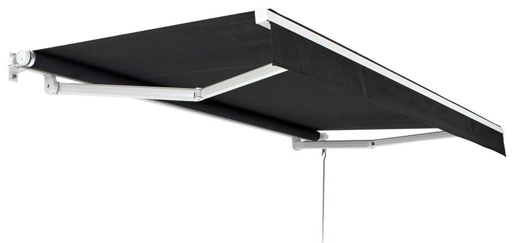 KA - KONA Access The Kona Access is an entry level folding arm awning which features compact and non-obtrusive quality components, offering a classic design in an elegant open roller style awning.