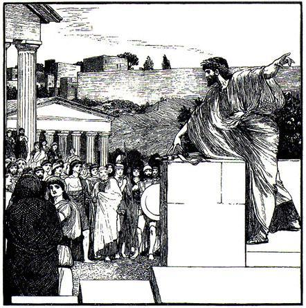 Direct participation was the key to Athenian democracy.