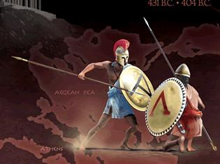 Sparta and Athens at War Athenian allies had paid tribute to Athens for protection, in case the Persians caused more