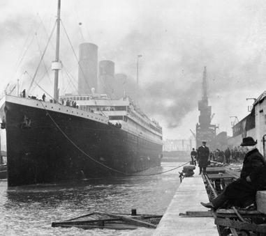 Jack felt lucky to be on the ship s elegant: grand, beautiful first-class: the best-quality and often most expensive way to travel A Huge Job It took 3,000 men nearly three years to build the Titanic.