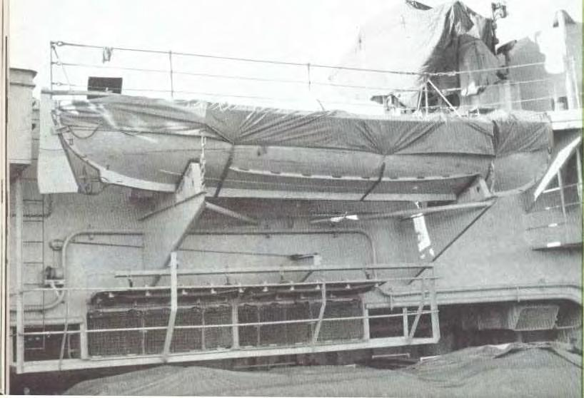 This 16 ft to the inch scale model of HMS `Hermes', made for the Admiralty by Julian Glossop, is to be displayed at exhibitions and recruiting centres throughout the United Kingdom by the Director of