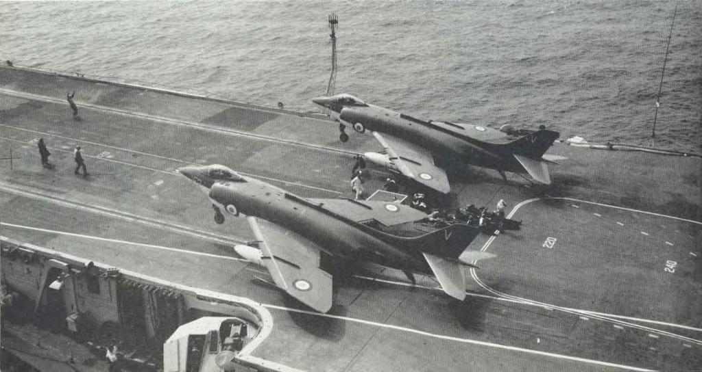 weapon carrying ability, ushering in a new era in British naval aviation.