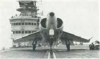 The hydraulic-pneumatic catapult had reached a state of development enabling it to launch the Seahawk/Sea Venom generation of aircraft satisfactorily, but further development for the new generation