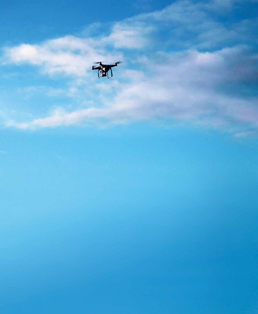 MAIN STORY INDUSTRY MUST ACT FAST TO REGULATE DRONE USE Rapid growth in drones is an increasing risk to