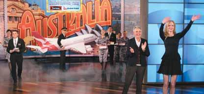 QANTAS ANNUAL REPORT 2013 The Ellen DeGeneres Show» Two episodes of The Ellen DeGeneres