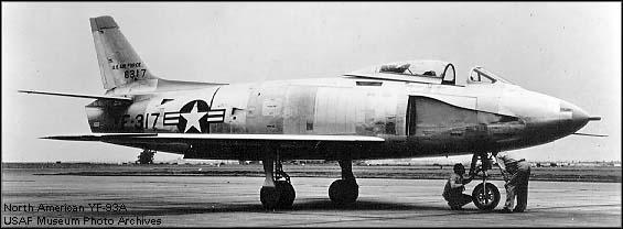 North American XF-93A - 1950 2 Prototypes built Experience learned