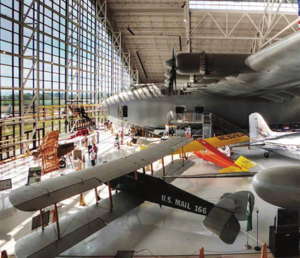 The Spruce Goose under financial scrutiny.