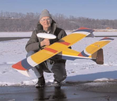 Hwy 270 Hwy 70 GEORGE COOPER PHOTO George Cooper and his Ace/Thunder Tiger Seamaster seaplane that does double-duty flying off of snow Spirits Meetings Second Thursday of each month - 7 P.M. St.