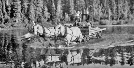 Carl Brooks, one of the Monkman Trailblazer Crew, who within a few years would lose his life in a plane crash in Kakwa while guiding, wrote in his 1937 trail guide: Stony Lake is a lovely lake with a