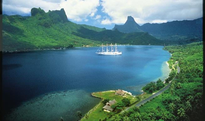 TOUR INCLUSIONS HIGHLIGHTS Relax on the beaches of stunning Papeete Enjoy the Tahitian lifestyle in beautiful Moorea Dock overnight in The Sacred Island Raiatea Explore Motu Mahaea, a great spot for
