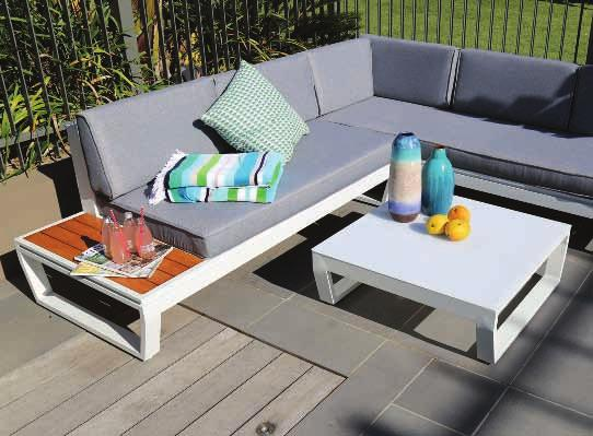 solar LED table 220 x 100 x 74cm with 5mm frost tempered glass and solar panel Rust free aluminium frame Two metre long,