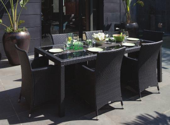 AVAILABLE HX010020LBLK (Table-) HX0020LBLK (Chair-) Rattan Colour: Coffee Ruff ALSO AVAILABLE