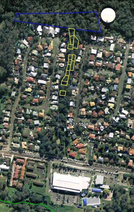 Appendix F: Fox Gully Stewardship Owners, of fourteen properties in O Grady & Arafura Streets, currently support restoration of the Fox Gully wildlife corridor March 2011.