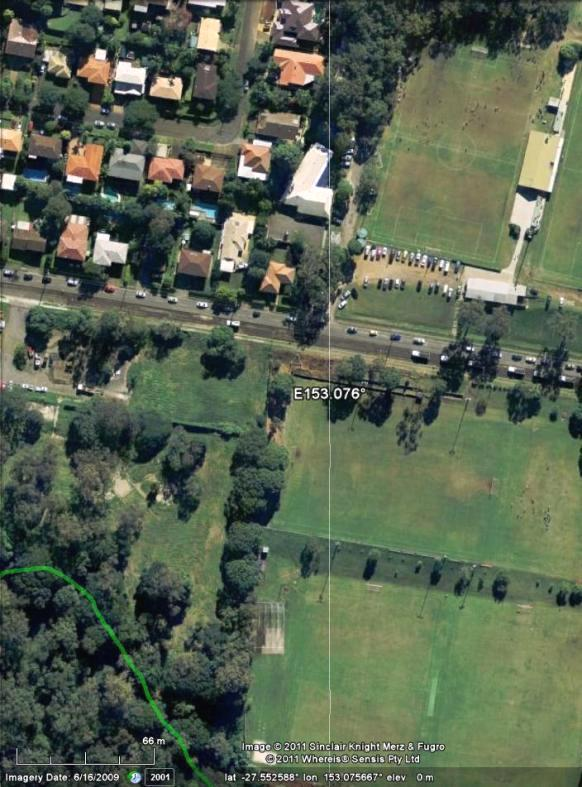 Appendix G: Firefly Gully Link Potential link via landscaping at eastern end of Park&Ride and Clairvaux MacKillop
