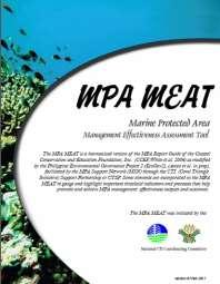 MPA Awards (Para El MAR) for Best Practices in MPA management in the Philippines 2007 Iloilo City 2009 Cebu City 2011 Quezon City 2013 Quezon City 1 st Place Handumon Marine Sanctuary Getafe, Bohol