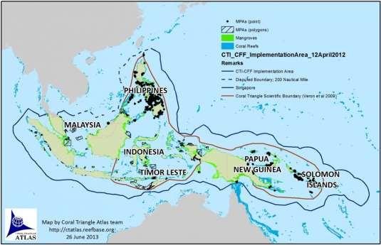 Major Initiatives in Coral Reef Research & Management R & D DOST RESOURCE M&E reef mapping, assessment & monitoring tools Vulnerability Assessment Visualization technology RESTORATION Coral Triangle