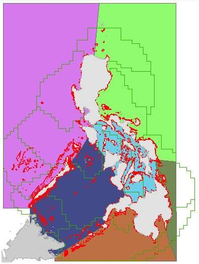 IV III V II XI I IX X VIII Investigation of Coral Reef Resources of the Philippines (1976-1981) nationwide assessment of coral reefs >500 reef sites surveyed produced the quartile benchmark standard