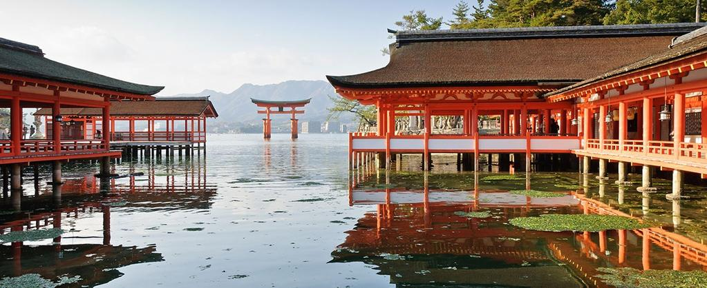 800 554 7016; M-F 8-7, Sat 9-1 CT or speak to your travel professional LUXURY EXPEDITION CRUISES Wonders of Japan Cruise 2018 14 Days Limited to 199 guests Experience scenic, compelling Japan,