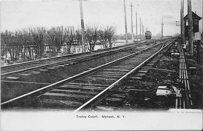 Interesting Pictures Here's where the Utica and Mohawk Valley Railway connected with the West Shore at