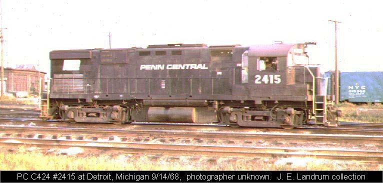 (Found on the background of slide 16) This picture is of part of an old railroad from Penn Central.