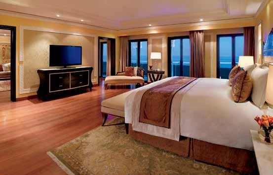 REST With 250 guest rooms and suites, including eight presidential suites, guests