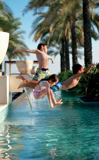 ENTERTAIN While parents enjoy a host of amenities at the resort or a night