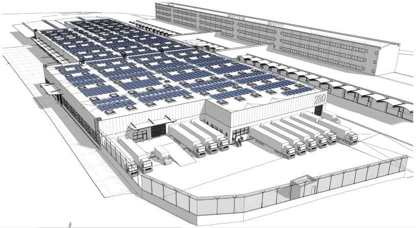 to reduce CO2 emissions planned construction of one of Austria s largest photovoltaic plants (5,000 m²) Investments