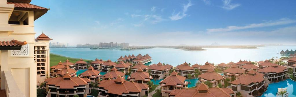 The Anantara Residences Overview The Anantara Residences is a spectacular, exclusive residential property situated within the five-star Anantara Dubai Palm Jumeirah Resort & Spa.