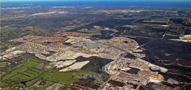 ELLENBROOK AVELE AREA SUMMAR Located just over 20km to the north east of the Perth CBD, the Ellenbrook Aveley area is one of the fastest growing communities in the Perth North region.