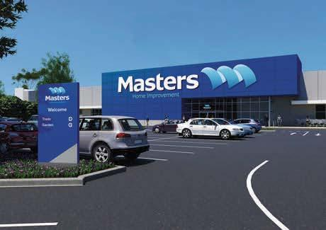 commercial options, including a recently extended shopping centre and a new Masters store.