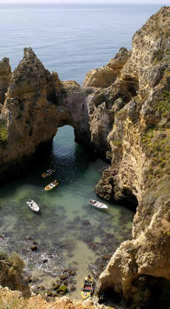 Often known as the Algarve Pearl, Lagos is recognized for maintaining its authenticity, adapting