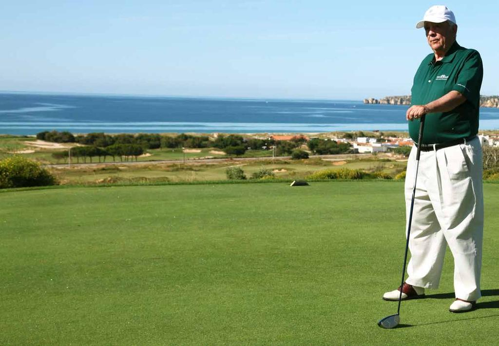 LIFE DREAMED BY ONYRIA ROBERT TRENT JONES Jr at Onyria Palmares Robert Trent Jones Junior is the son of the legendary Trent Jones Senior, who redesigned some of Augusta s famous holes.