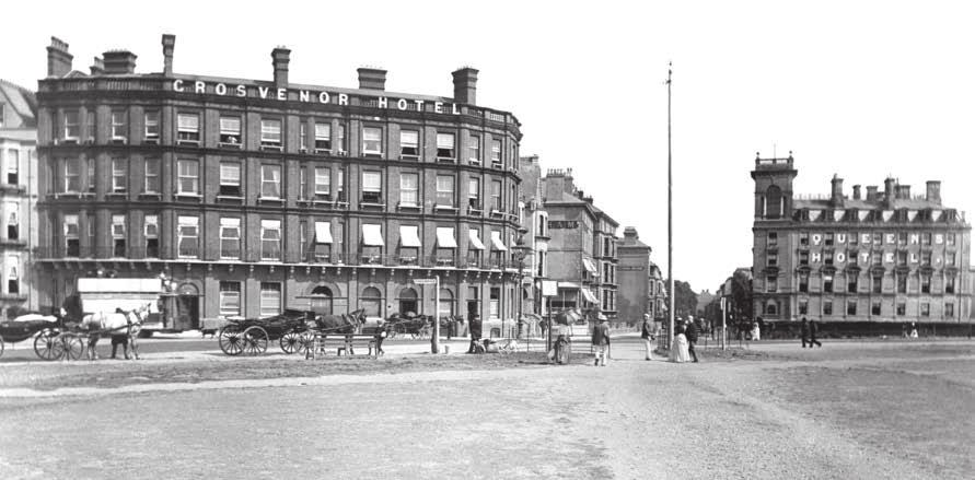 Site History THE QUEEN S HOTEL The Queen s Hotel was originally built as a private residence for Sir John and Lady Morris.