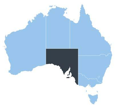 97b SOUTH AUSTRALIA GROSS STATE PRODUCT 2013/14 MOST LIVEABLE CITY IN AUSTRALIA (2010-2012 Property Council) NO.