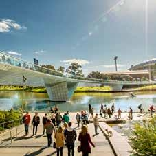 INVESTMENT IN THE RIVERBANK Given its value to the state, the future direction of the Riverbank Precinct has long been the focus of much public and private debate.