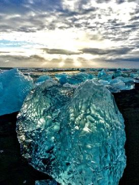 Watch the coastal tide manipulate building-size icebergs like play things, as if they didn t weigh thousands of