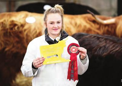 The overall female champion was the Best Senior Heifer and came from Sir William Lithgow, Bt & Son (Ormsary) who won the D M Stewart Memorial Trophy with Sidonia 12th of Ormsary, born on 6 April 2013