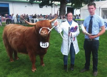 Brunnila from Mr & Mrs S Hayley bred by R Palonen 3rd Leigh Dubh of Hellifield from Mr S & L Burnett bred by Messrs R A & W Phillips Class 62 1st Reserve Junior Champion Margaret 1st of Seam from Mrs
