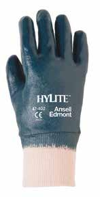 Hand Protection Category Hylite 47-402 Medium-Duty Multi-Purpose Gloves A smart alternative that outperforms cotton, leather and PVC gloves.