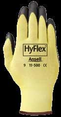 11-624-9 220114235 HyFlex 11-624 gloves 9 12/Pk 11-624-10 220100545 HyFlex 11-624 gloves 10 12/Pk 11-624 HyFlex 11-500 Light-Duty Cut Protection Gloves Performance and