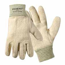 Heat-Resistant Category Hand Protection 51/7147 Grip N Hot Mill Nitrile-Coated Gloves Protects against