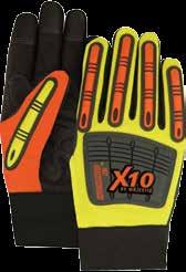 21242HO/11 337915415 Knucklehead X10 unlined gloves XL Hi-viz orange 12/Pk 21242HY/9 337915495 Knucklehead X10 unlined gloves M Hi-viz yellow 12/Pk 21242HY/10 337915505 Knucklehead X10 unlined gloves