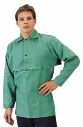 Category Welding & FR Safety SubSection Combination FR Cotton Torso and DualTec FR Sleeves Body made of 9 oz., 100% cotton, Westex FR7A cool and comfortable fabric.
