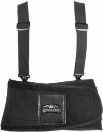 Ergonomics Category Premium Lifters Support Constructed of durable polyester fabric with a solid inner core. Features an internal lumbar support pad.