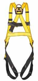 10072487 3085985A1 Full-body harness w/ back D-ring & tongue-buckle legs Standard 10072488 3085001C1 Full-body harness w/ back D-ring & tongue-buckle legs XL 10072479 3085983A1 Full-body harness w/