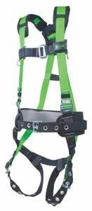Category Fall Protection R10CN-TB-BDP/UGN Miller Revolution Construction Harnesses Features heavy-duty webbing, mating-buckle chest straps, cam buckles, stand-up D-ring, self-contained label pack,
