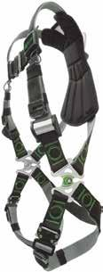 Revolution Harnesses with DualTech Webbing DualTech webbing offers soft, textured inside and durable, chemical-resistant polyester outer material.